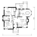 План 1 этажа Форест
