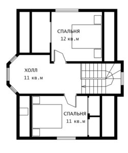 План 2 этажа Лира