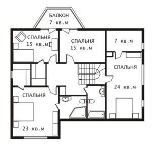 План 2 этажа Рэдиссон