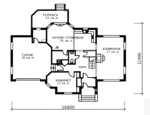 План 1 этажа (Европа)