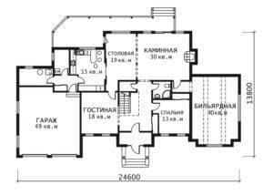 План 1 этажа Лувр
