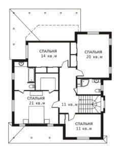 План 2 этажа Бруклин