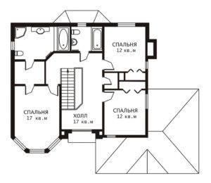 План 2 этажа Денвер