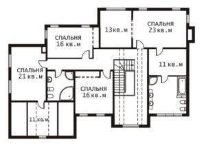 План 2 этажа Лувр