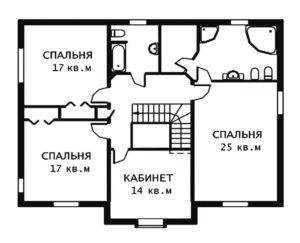План 2 этажа Веллингтон