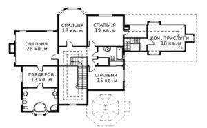 План 2 этажа Версаль