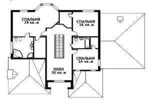 План 2 этажа Виктория