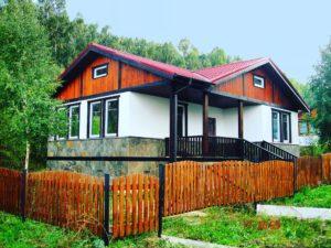 Каркасный дом Ока-1