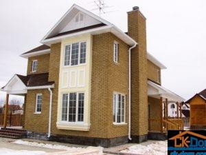 Проект Ирис - зимний каркасный дом