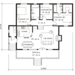 План 1 этажа (Петропавловск)