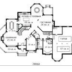 План 1 этажа Сиэтл