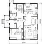 План 1 этажа Сказка