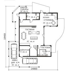 План 1 этажа Тампере