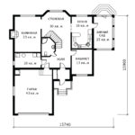 План 1 этажа Татьяна-2