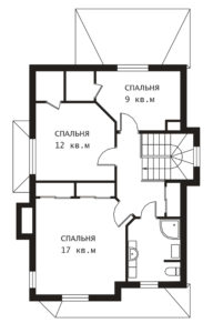 План 2 этажа Эльф-2