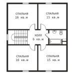 План 2 этажа Примула