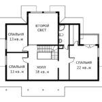 План 2 этажа Серенада
