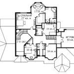 План 2 этажа Сиэтл
