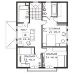 План 2 этажа Сказка
