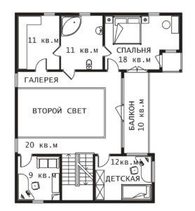 План 2 этажа Тампере