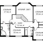 План 2 этажа Татьяна-2