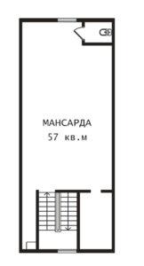 План мансарды Тампере