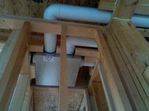 Система приточной вентиляции в каркасном доме