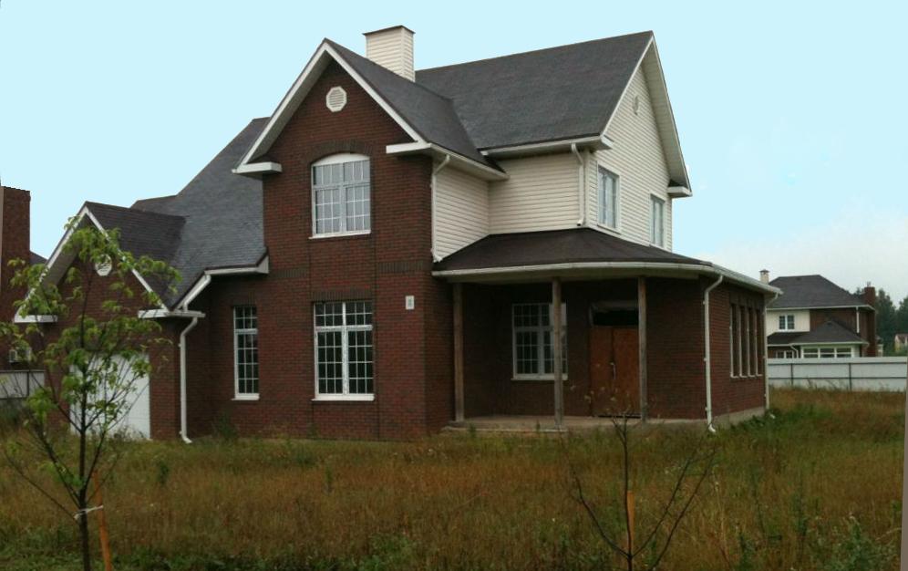 Каркасный дом по проекту Лотос