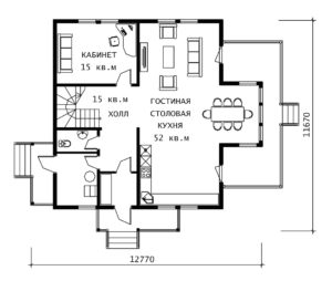 План 1 этажа Герман