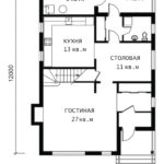 План 1 этажа Герта