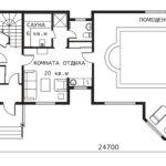План 1 этажа Гринфилд