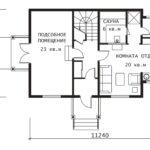 План 1 этажа Гринфилд-2