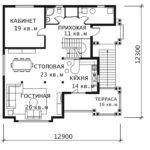 План 1 этажа Каскад 0-1