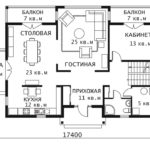 План 1 этажа Каскад 1-2