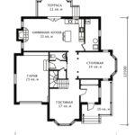 План 1 этажа Крокус