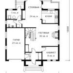 План 1 этажа Льеж