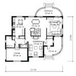 План 1 этажа Лотос-2