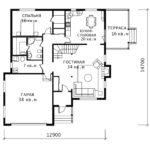 План 1 этажа Людмила