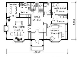 План 1 этажа Наташа