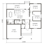 План 1 этажа Оренбург