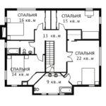 План 2 этажа Диллингем