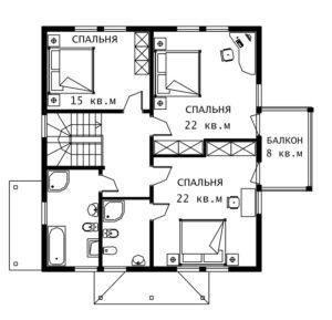 План 2 этажа Герман