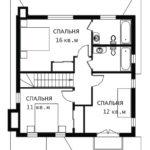 План 2 этажа Герта