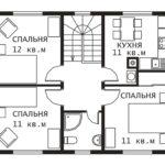 План 2 этажа Гринфилд-2