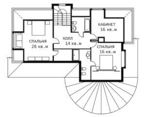 План 2 этажа Инна