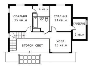 План 2 этажа Истра