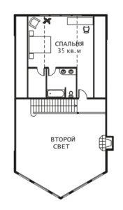 План 2 этажа Калифорния