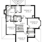 План 2 этажа Крокус