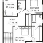 План 2 этажа Латвия