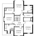 План 2 этажа Льеж